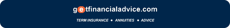 getfinancialadvice.com Term Insurance, Annuities and Advice banner